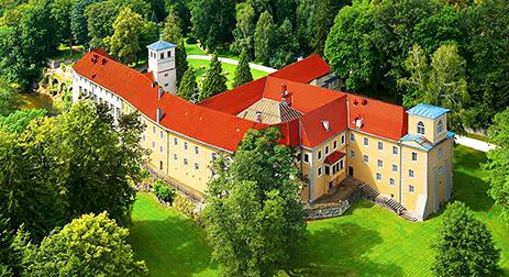 Hotel Kasteel Zamek na Skale Polen